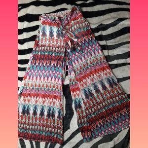 Fancy Cute Flared Dress Pants